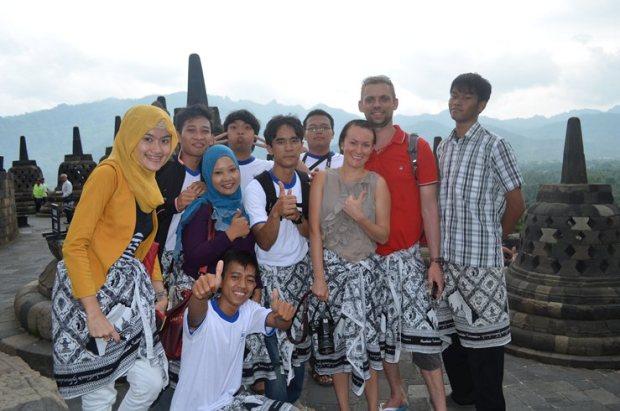 Praktek Edu Wisata Desa Bahasa Magelang