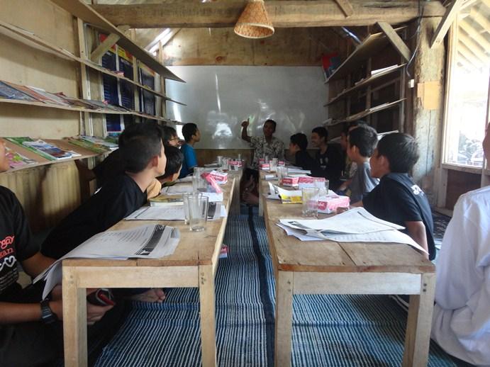 Proses Belajar Menyenangkan di Desa Bahasa Magelang